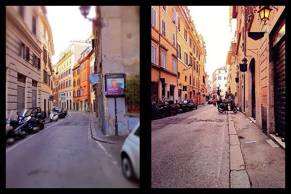 Via dei Banchi Vecchi w Rzymie