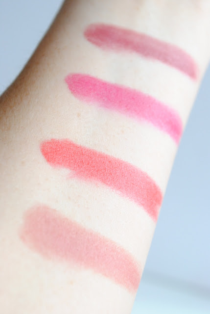 Chubby Stick Intense Broadest Berry, Plushest Punch, Heftiest Hibiscus, Curviest Caramel