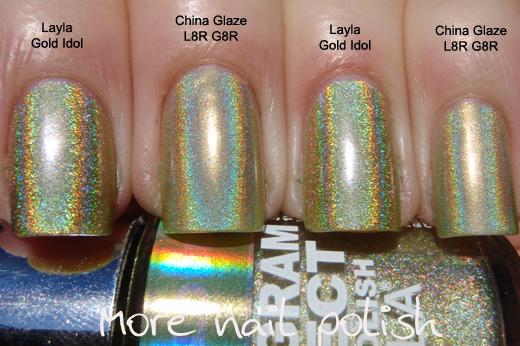 Layla Nail Polish Hologram