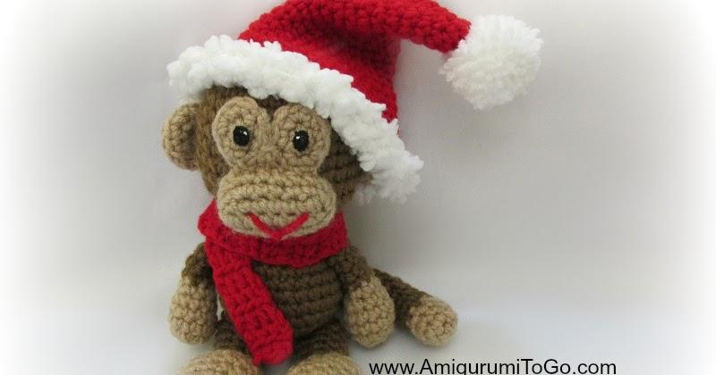 Amigurumitogo Little Bigfoot Monkey : Amigurumi Christmas in November Album ~ Amigurumi To Go