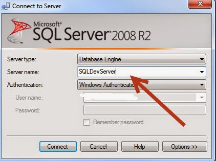 Connecting to SQL Server Default Instance