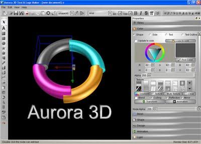 Aurora 3d Text Logo Maker Full Version Free Download