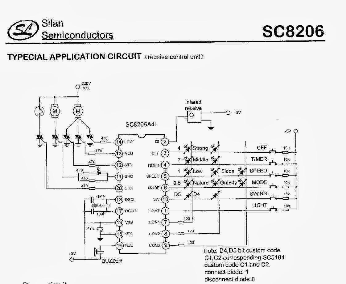 Wiring Diagram Kipas Angin 3 Kecepatan : Nte electronics circuit service kipas angin miyako remote