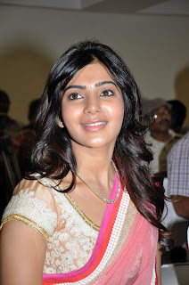 Samantha Beautiful Saree Photo Gallery
