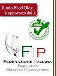 Blog approvato FIP - Federazione Italiana Pasticceria Gelateria Cioccolateria