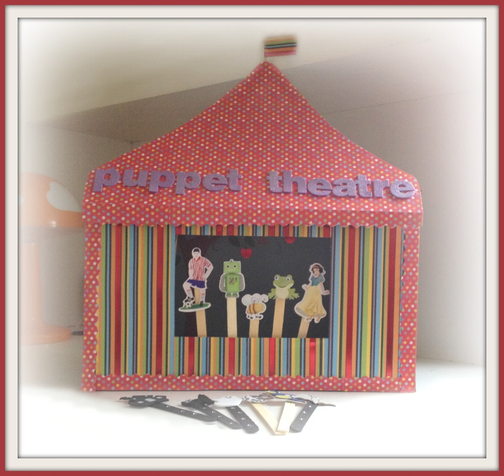 Kids Puppet Theater Crafts