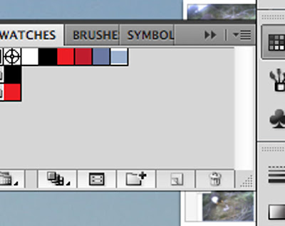 screen shots of how to make a color palette in illustrator