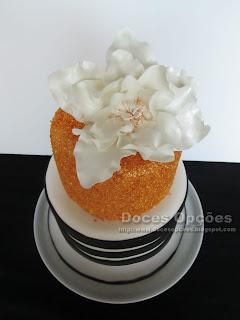 bolo flores pasta açucar doces opções bragança