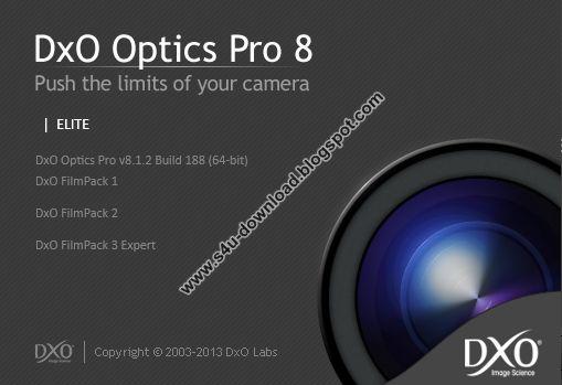 DxO Optics Pro 8.1.2 Build 188 Elite (x86/x64)