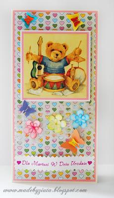 kartki okolicznościowe barbara wójcik kartka urodzinowa dla dziecka dziewczynki