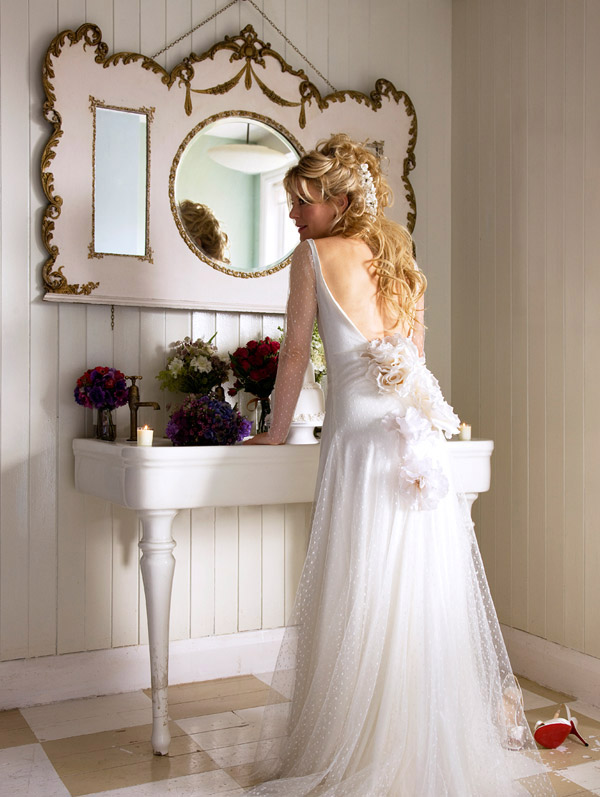 Halfpenny London 2013 backless Wedding Dresses