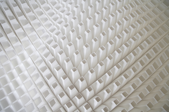 Paper art by Matt Shlian - Nest of Pearls