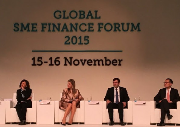 Queen Maxima At Global SME Finance Forum In Antalya