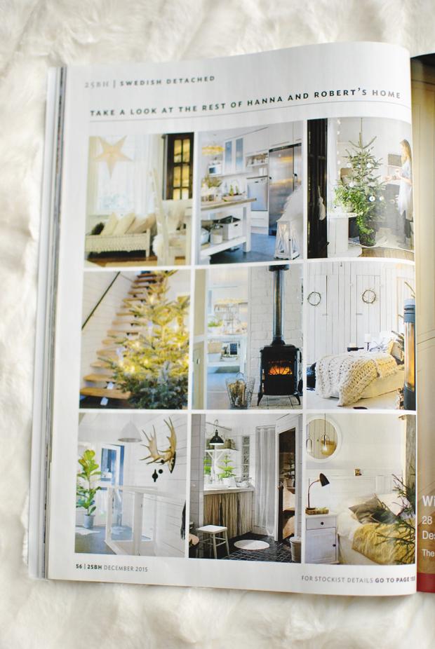 25 beautiful homes hannashantverk.blogspot.se julreportage christmas