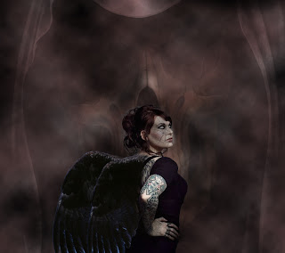Angel dark art