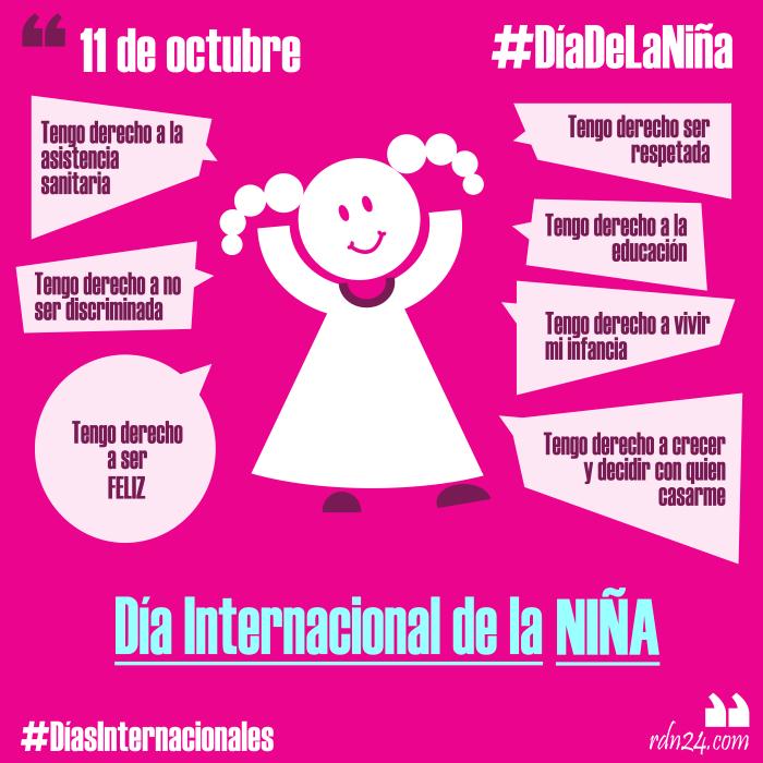 11 de octubre – Día Internacional de la Niña #DíasInternacionales