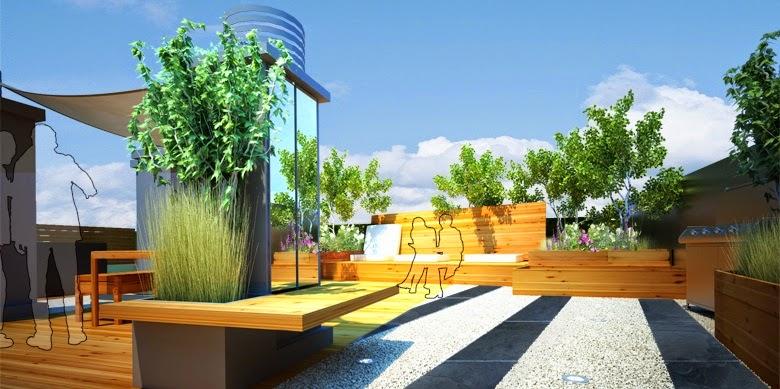 Terrazas construcci n y decoracion de terrazas bonitas dise o de terrazas en azoteas - Diseno de terraza ...