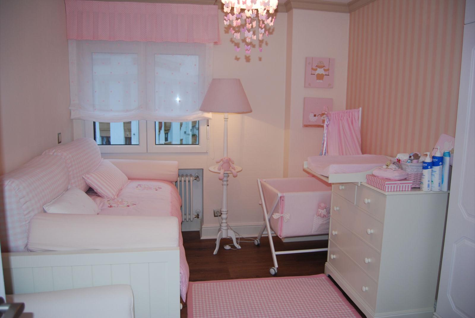 Caracolas deco la habitaci n de sabela - Estores para habitacion de bebe ...