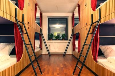 Die Wohngemeischaft, chambres dortoirs