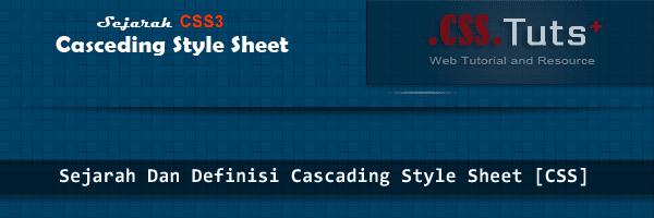 Definisi Cascading Style Sheet