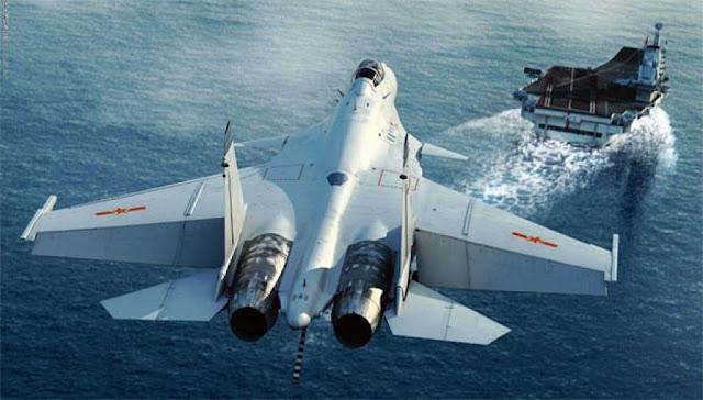 "Tο κινεζικό αεροπλανοφόρο Liaoning έφτασε στην Συρία - ""Μαχητικά J-15 θα επιχειρήσουν κατά του ISIL"" λένε οι Ισραηλινοί"