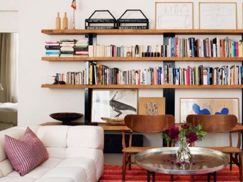 C mo organizar los libros en una habitaci n casas decoracion for Como organizar mi habitacion