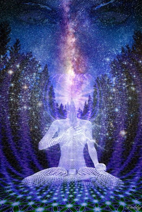 More awesome psychedelic wallpaper images - Meditation art wallpaper ...