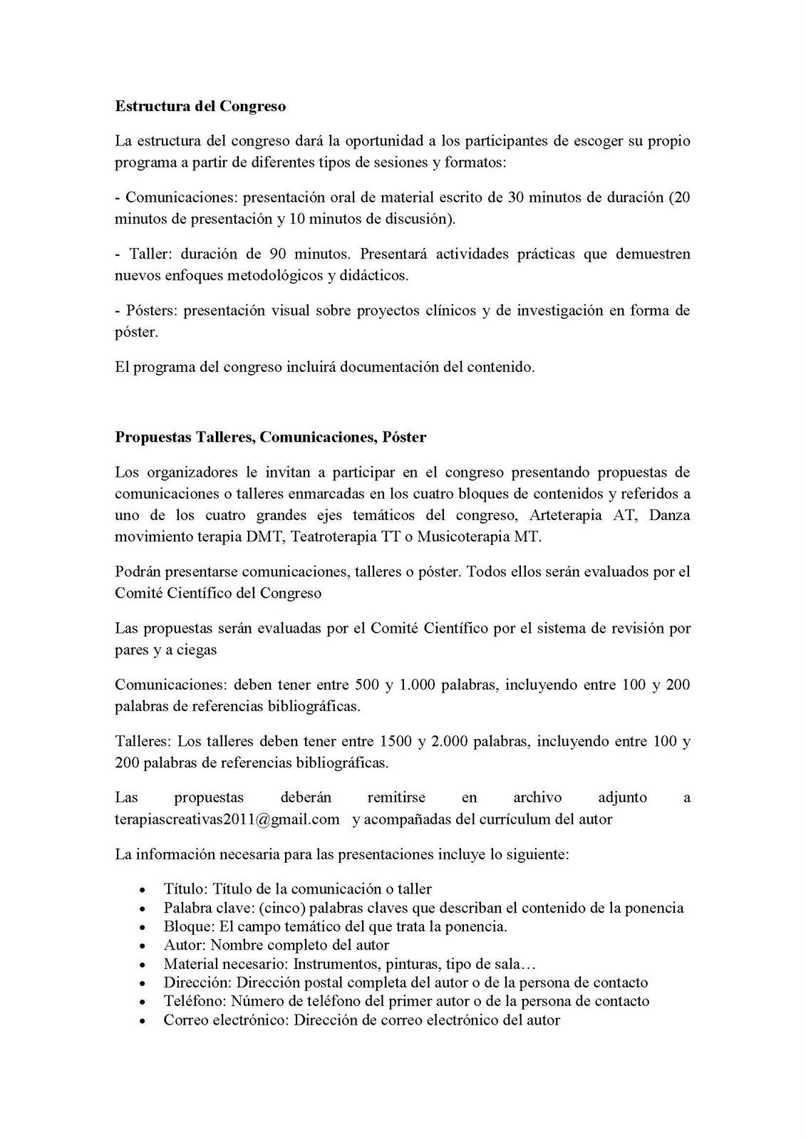 AUTISMO ARAGÓN: II CONGRESO NACIONAL DE TERAPIAS ARTÍSTICO CREATIVAS