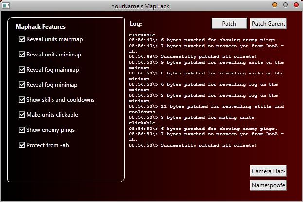 Lol maphack 2011. Dota Yourname's Maphack V4 1.24e Undetected.