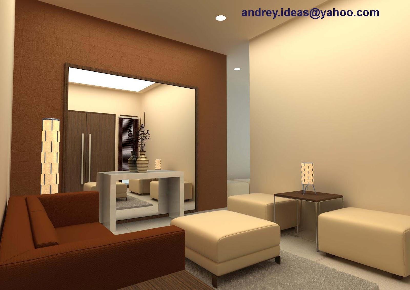 contoh wallpaper untuk ruang tamu free download