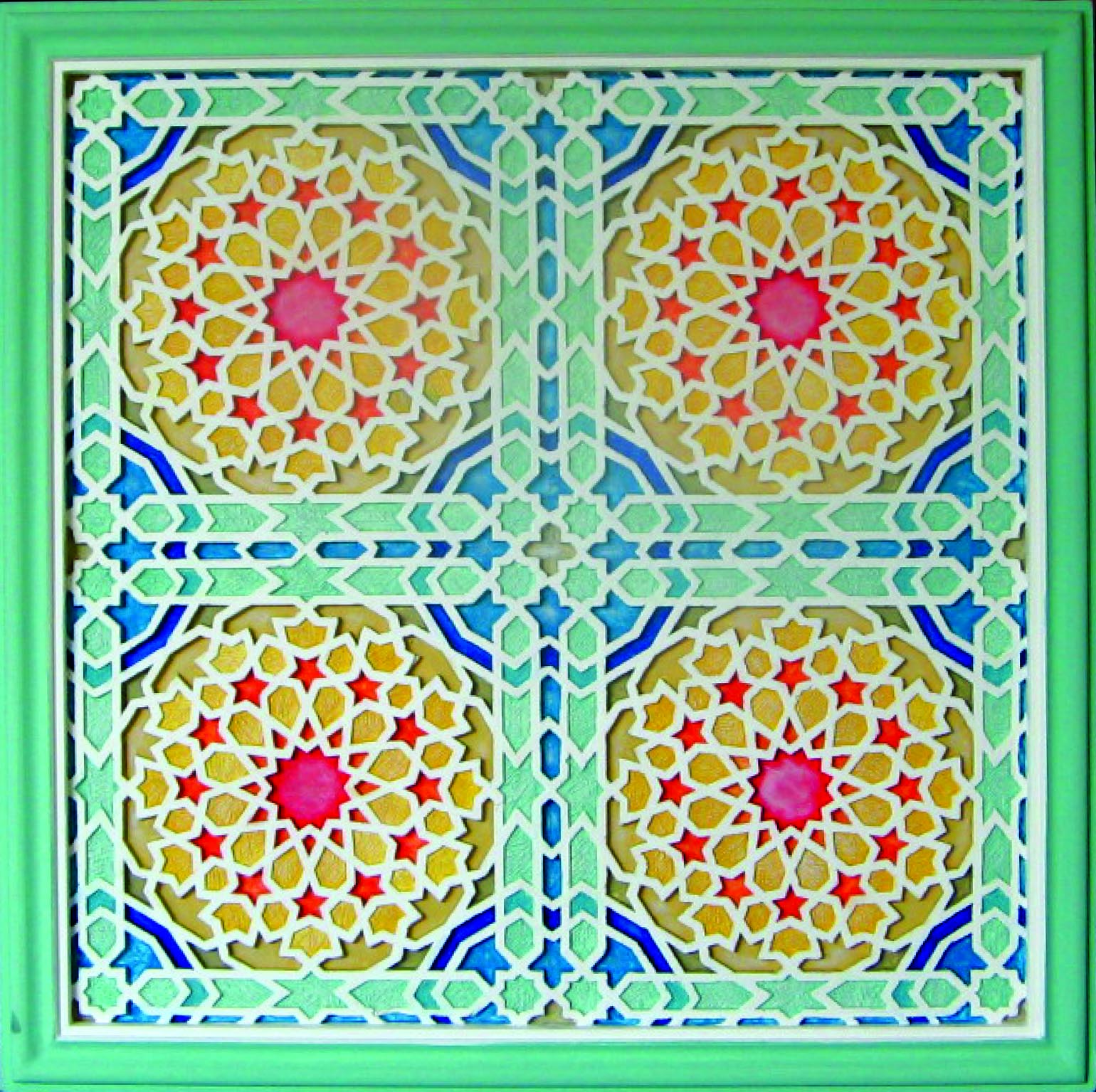 IVHSB WALL DECOR SERIES GEOMETRIC MOTIF