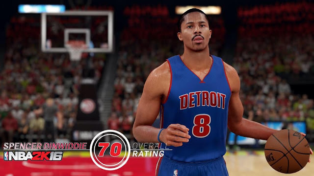 NBA2K16 Spencer Dinwiddie