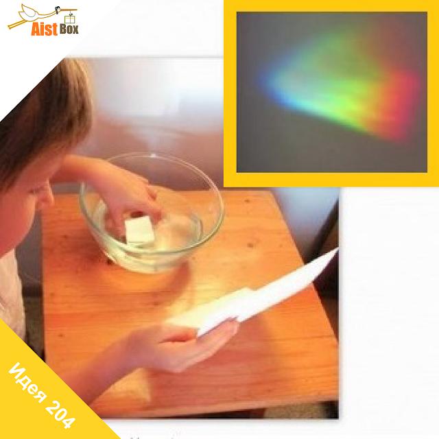 Как сделать радугу на с помощью диска