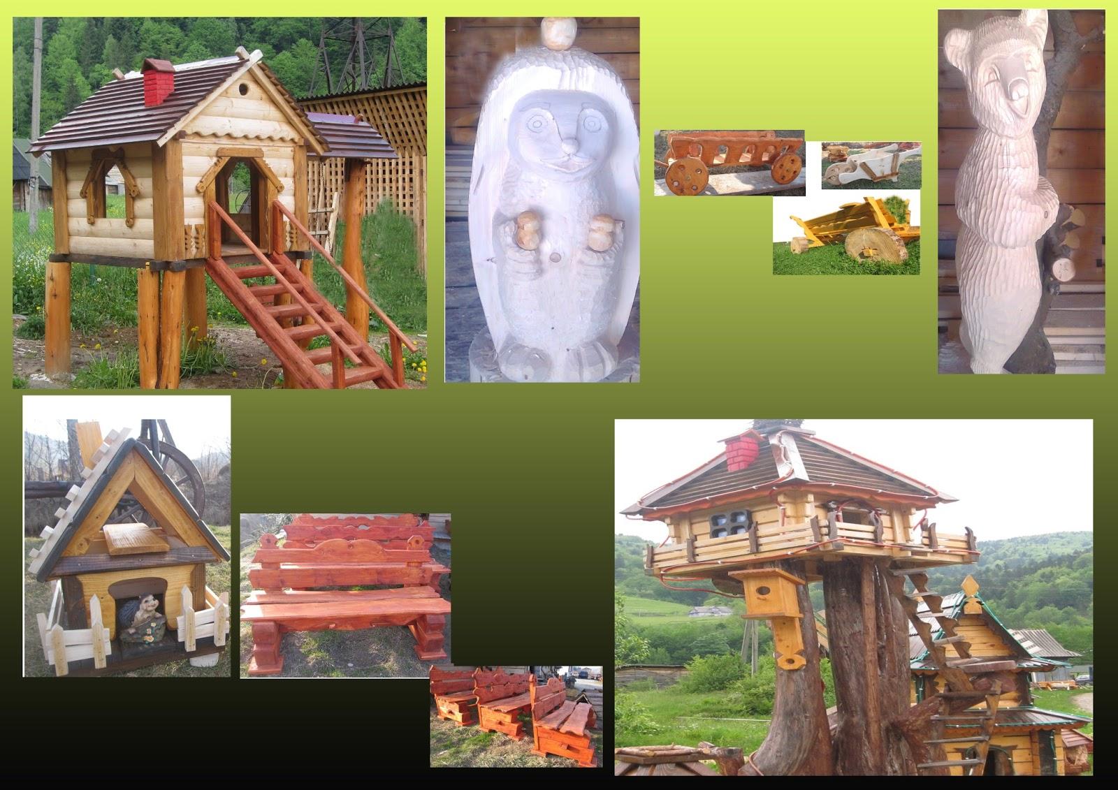 Декоративні вироби із дерева