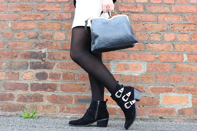 ASOS Western Buckle Boots