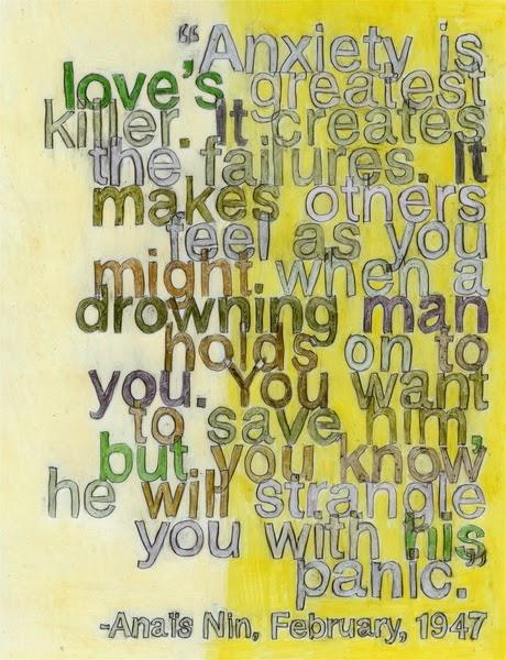 Ava Ayers Debbie Millman Print Anais Nin Quote