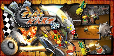 Android Game, Game Gratis, Tiki Karts 3D, 