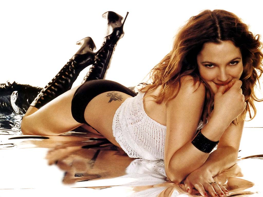 drew barrymore hot Sexy
