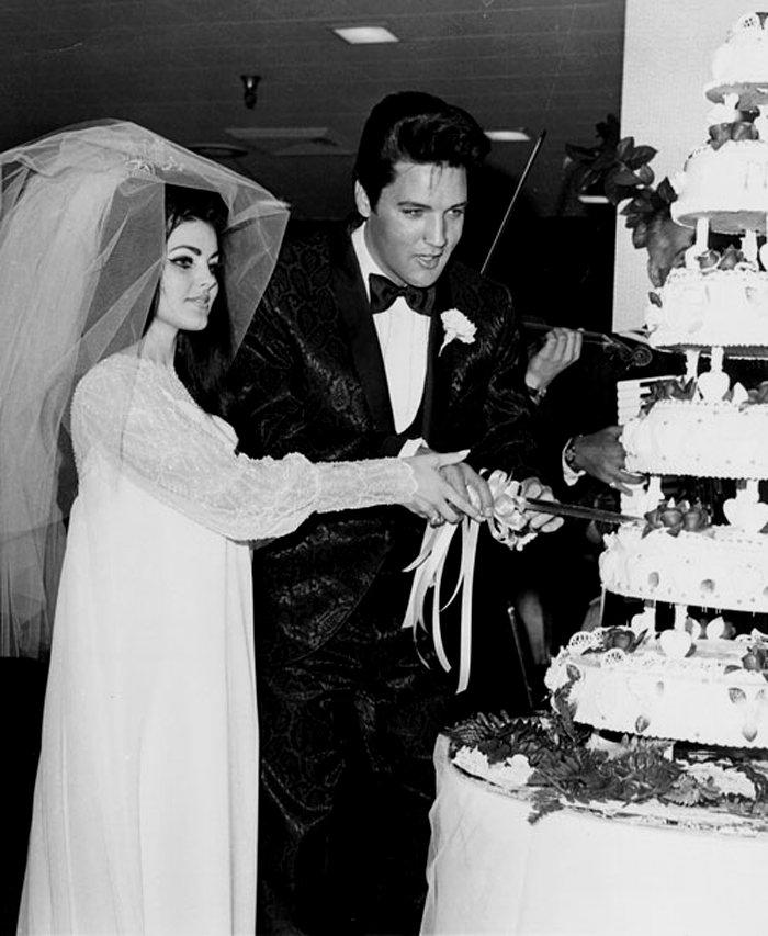 Elvis and Priscilla's Wedding May 1, 1967 ~ vintage everyday