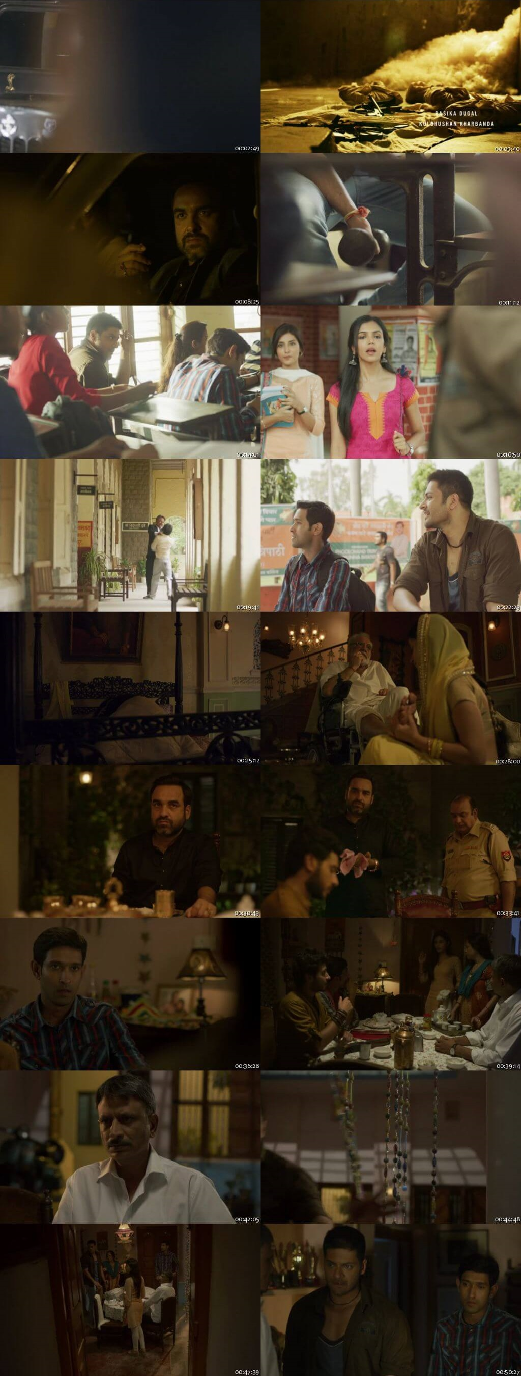 Screenshots Of Hindi Show Mirzapur Season 01 2018 Complete - All Episodes 300MB 720P HD