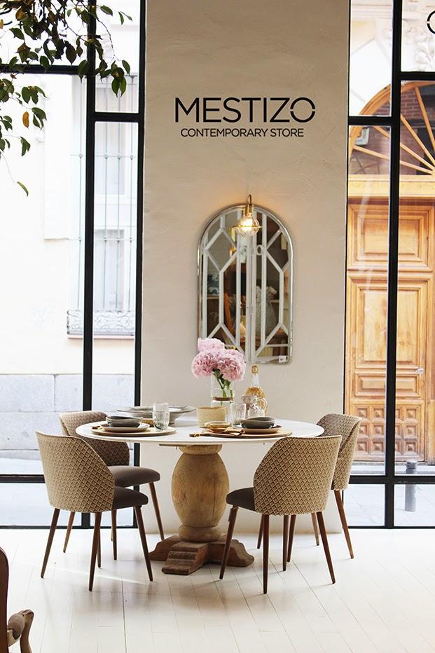 Mestizo Contemporary Store o el eclectisimo decorativo