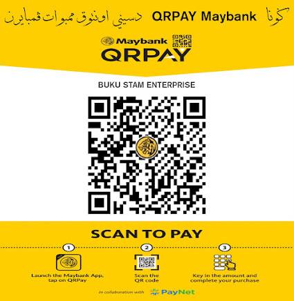MAYBANK QRPAY BUKU STAM ENTERPRISE