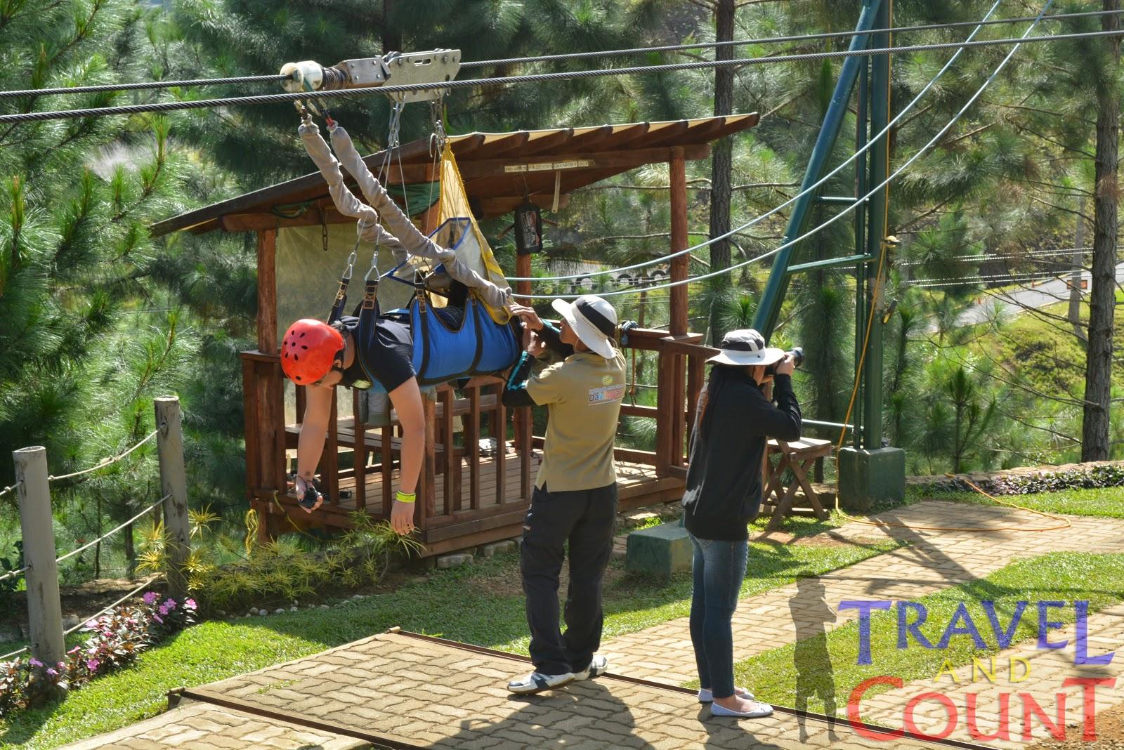 Dahilayan Park Bukidnon Zipline