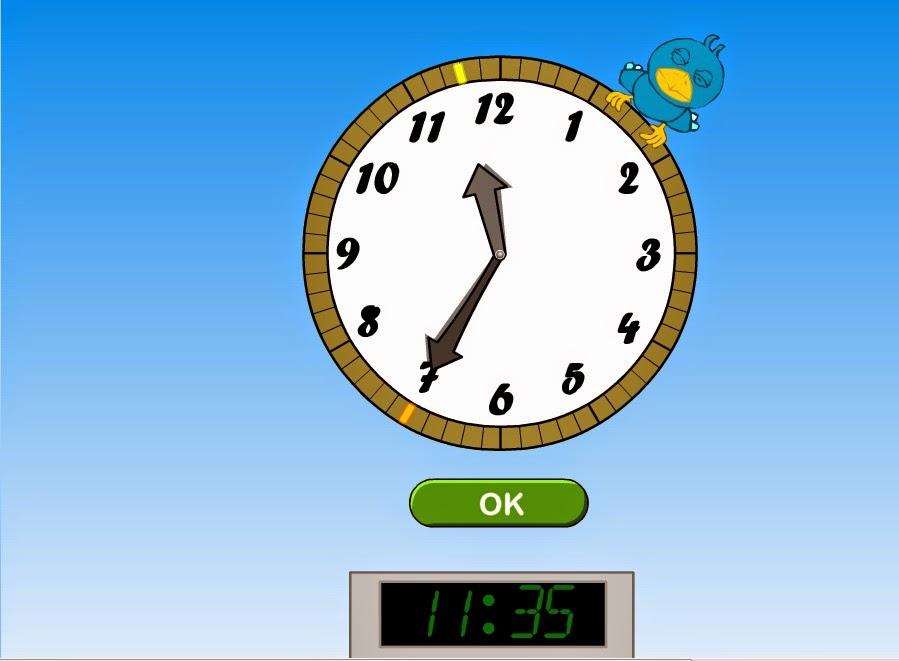 http://www.cyberkidz.es/cyberkidz/juego.php?spelNaam=Reloj&spelUrl=library%2Frekenen%2Fgroep5%2Frekenen1%2F