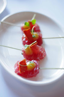 Tuna with watermelon image