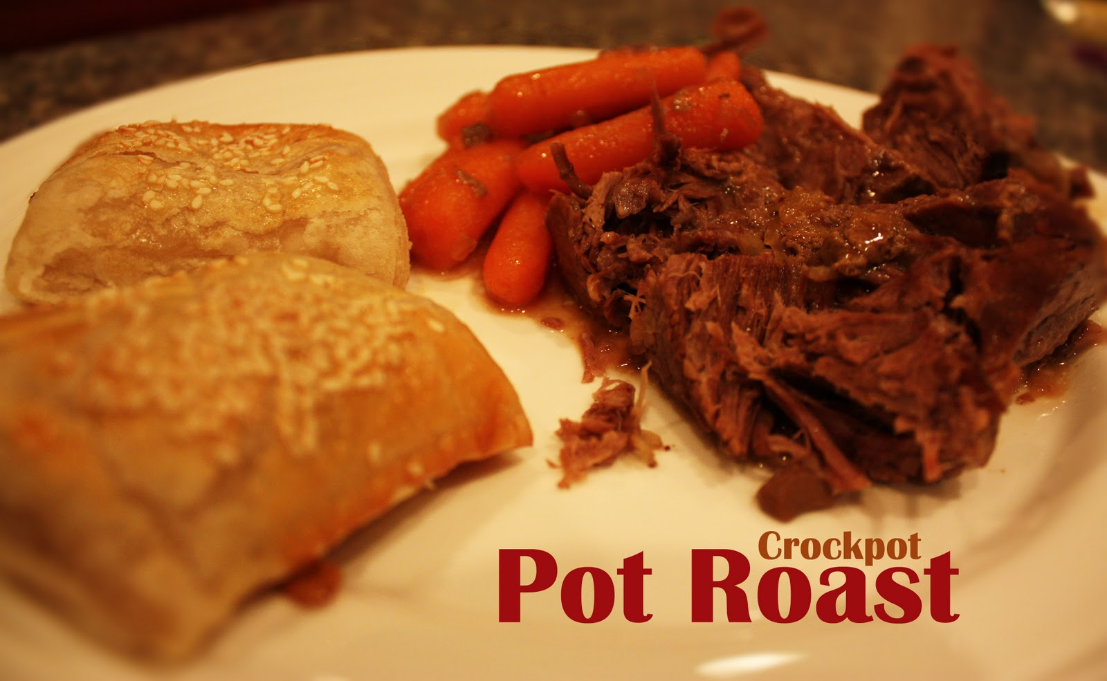 Repeat Crafter Me: Crockpot Pot Roast and Cinnamon Swirl Cake