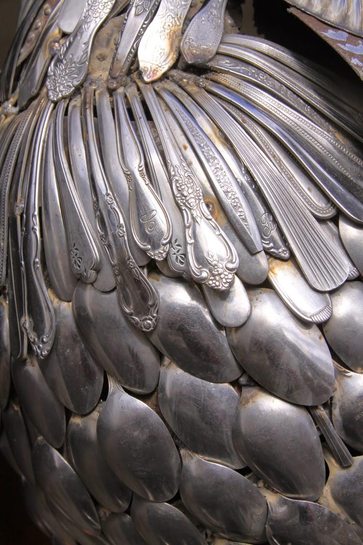 John Lopez, Hybrid Metal Art, esculturas, bronce, chatarra