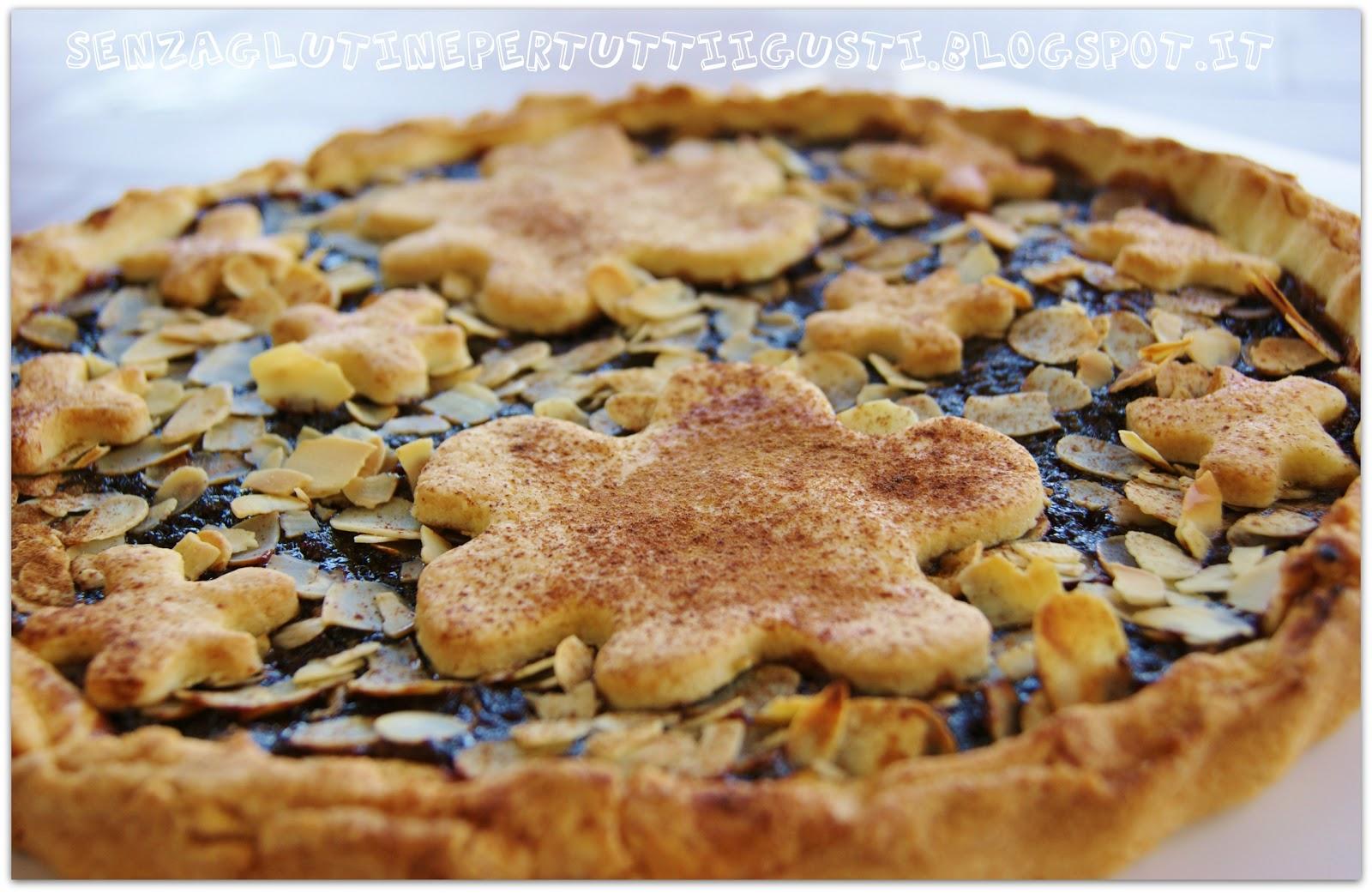 Senza Glutine Per Tutti I Gusti!: Una Semplice Crostata Senza  #7B451C 1600 1041 Cucina Mediterranea Senza Glutine Pdf