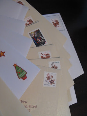 christmas cards for the mailbox
