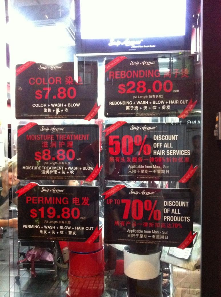 Monsoon Deal Review Cheap Hair Salon Clementi